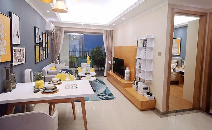 R&F condo room