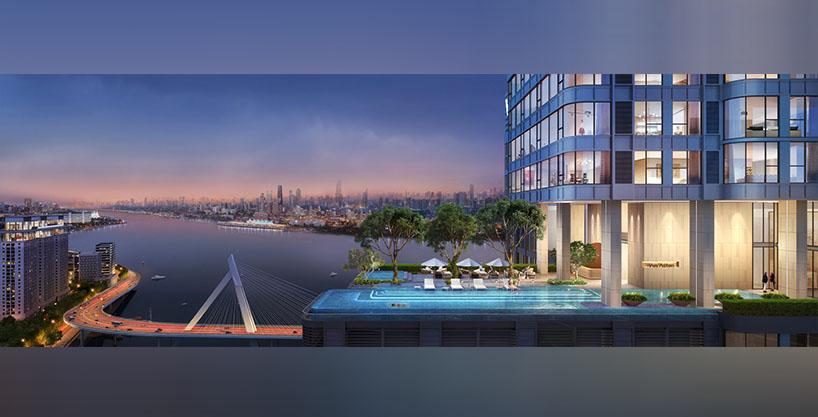 Luxury Waterfront Condo in Phnom Penh – a Masterpiece by world top designer HKS