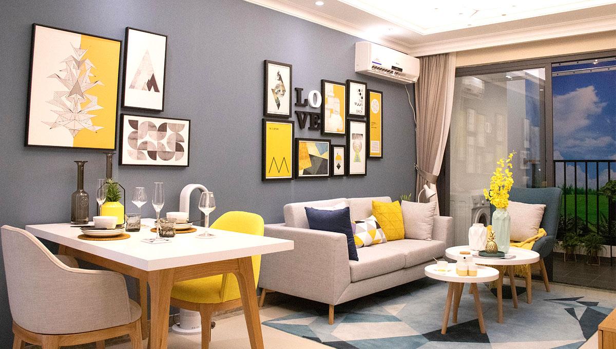 R&F Condo living room